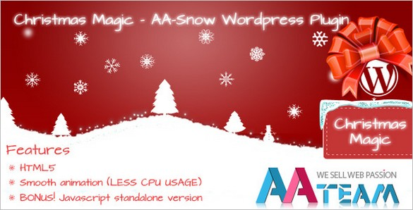 Christmas Magic - A -Snow WordPress Plugin
