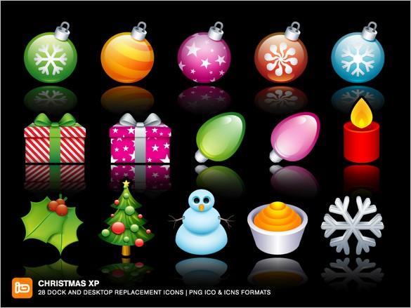 Beautiful Christmas XP Free Icon set