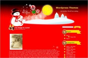 Christmasland is a free WordPress Theme