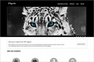 Elegantia is a free WordPress Theme by WP Legion