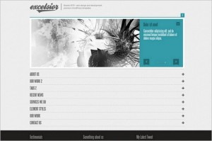 Excelsior is a One Page WordPress Theme