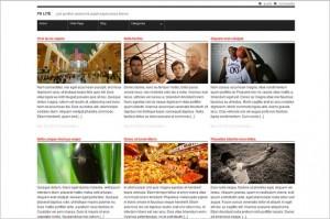 F8 Lite is a free WordPress Theme