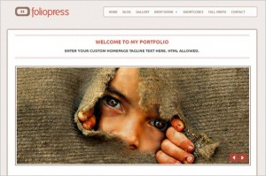 FolioPress is a free WordPress Theme