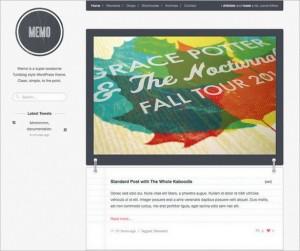Memo - A Tumblog Style WordPress Theme