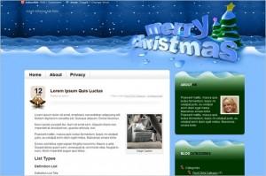 Merry Christmas is a free WordPress Theme