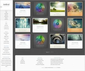 Notebook - A great multimedia WordPress Theme