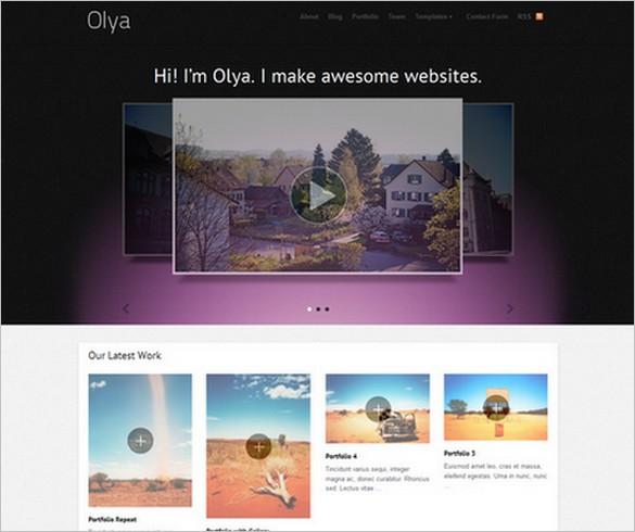 Olya WordPress Theme