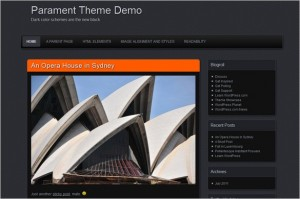 Parament is a free WordPress Theme