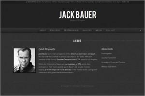 Personality is a One Page WordPress Theme