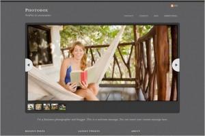 Photobox is a WordPress Theme by Themify