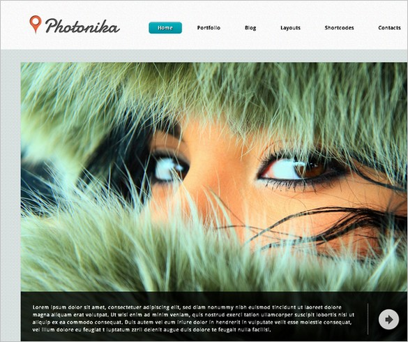 Photonika WordPress Theme