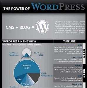 The Power of WordPress - Infographic
