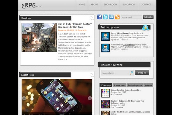 RPG.cod is a free WordPress Theme by ColorLabs