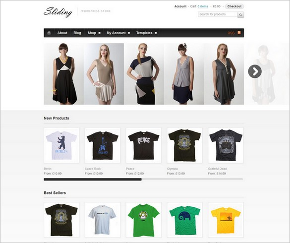 Sliding - A WooCommerce WordPress Theme