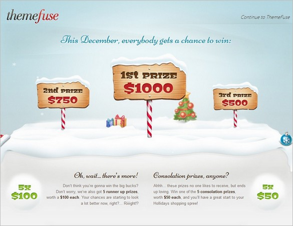 Themefuse giveaway in December 2011