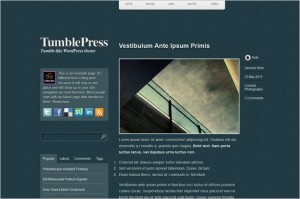 TumblePress is a frer WordPress Theme by ColorLabs