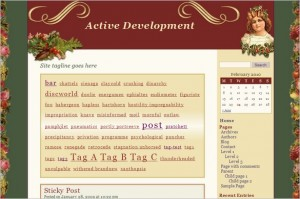 Victorian Xmas is a free WordPress Theme
