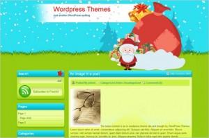 Xmas Bag is a free WordPress Theme