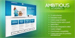 Ambitious – Business & Portfolio WordPress Theme