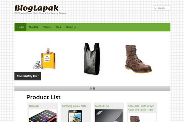 Bloglapak Wordpress Theme Free Wp Daily Themes