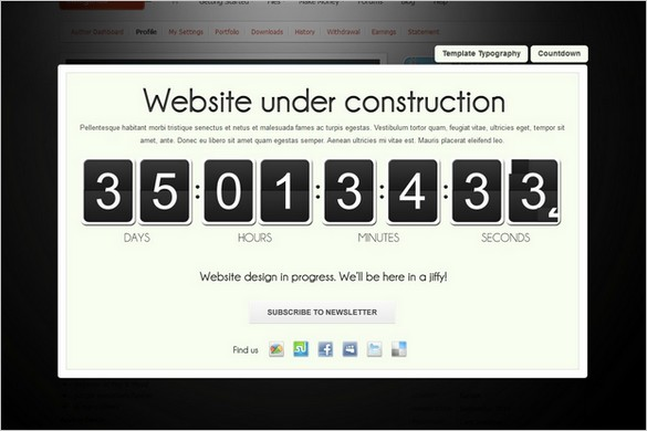 Coming Soon Landing Page is a premium WordPress Plugin