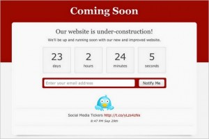 Custom Coming Soon Pages is a free WordPress Plugin