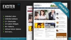 Exciter Magazine WordPress Theme