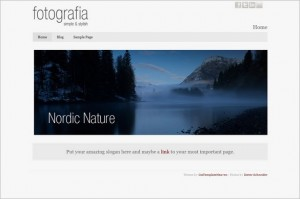 Fotografia is a free WordPress Theme