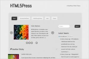HTML5Press is a free WordPress Theme