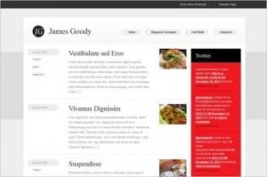 James Goody is a free WordPress Theme