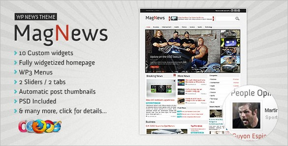 MagNews – WordPress Magazine Theme
