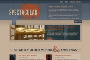 Spectacular is a free WordPress Theme