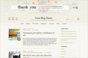 WordPress Anniversary is a free WordPress Theme
