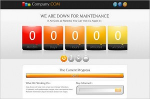 im2 is a Coming Soon and Under Maintenance WordPress Theme
