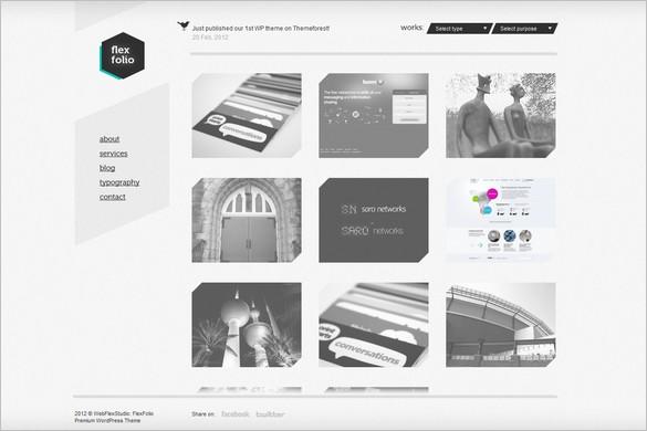 FlexFolio Portfolio WordPress Theme