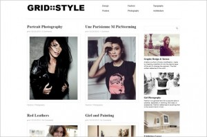Grid Style is a free WordPress Theme by Dessign.net