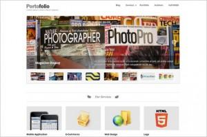 Portofolio is a WordPress Theme by ThemeWarrior