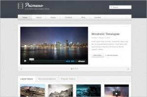 Primero a Video & Portfolio WordPress Theme