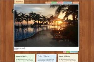 Retouch is a free WordPress Theme by Graph Paper Press