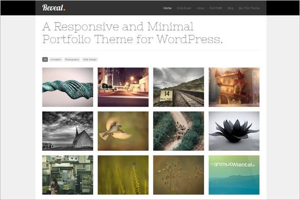 Reveal is a Portfolio WordPress Theme by Theme Trust