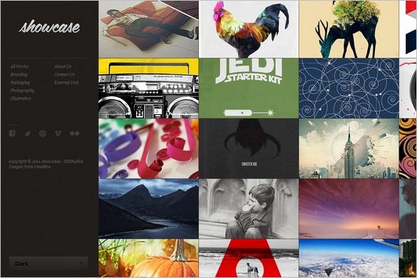 Showcase a Portfolio/Display/Gallery WordPress Theme
