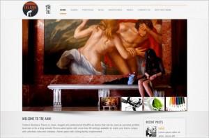 TreAnni is a Portfolio WordPress Theme