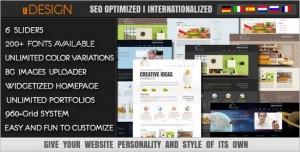 U-Design is a powerful premium WordPress Theme