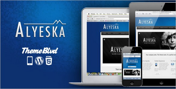 Alyeska is a Responsive WordPress Theme