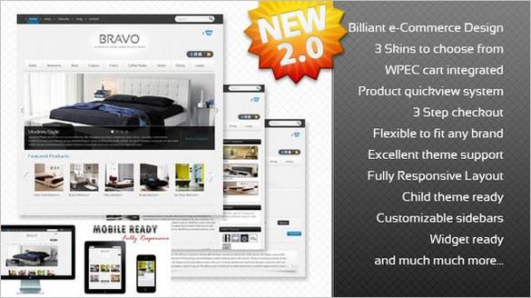 Bravo A WordPress e-Commerce Theme