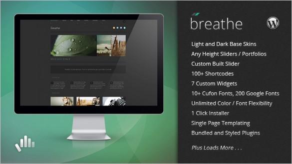 Breathe Premium WordPress Theme
