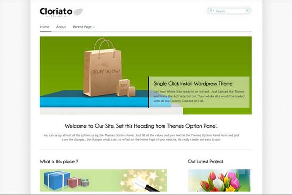 Cloriato Lite WordPress Theme