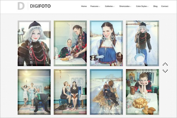 DigiFoto is a free Photography WordPress Theme
