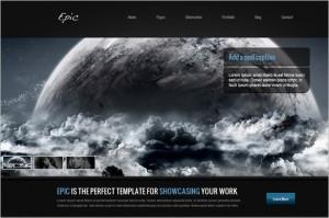 Epic is a premium WordPress Theme