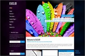 Euclid - Tech Corporate Multilingual WP Theme